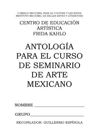 Antología de seminario de arte mexicano (color) by micheliszt ... b71cf21eb63