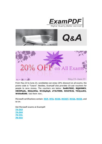 Exampdf 70 414 Questions And Answers By Acex Ly Issuu