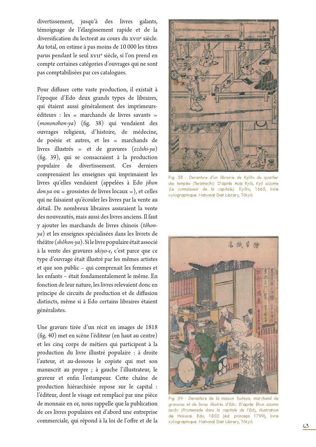 Japon La Lettre Et L Image A L Epoque D Edo 1603 1867 By