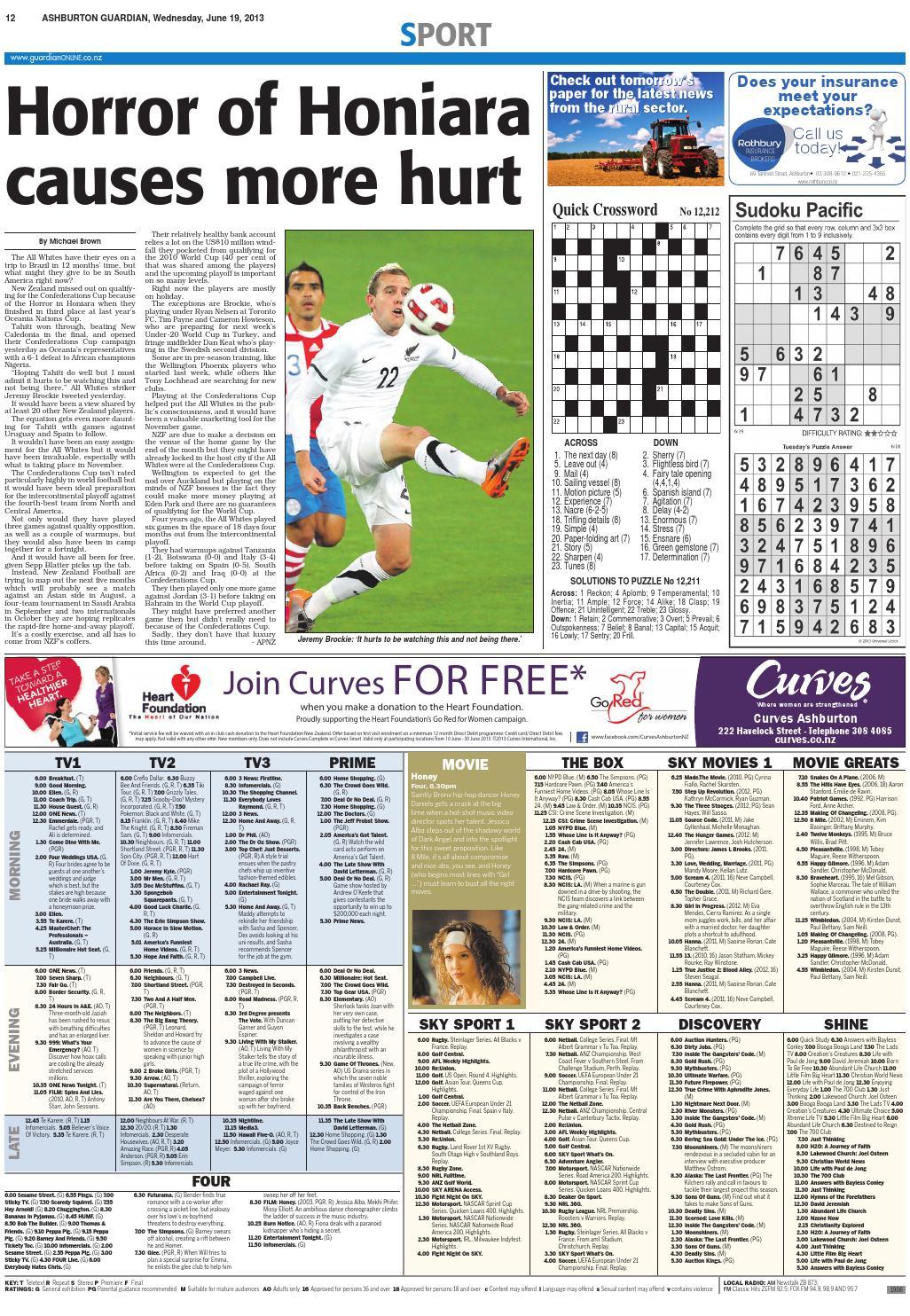 Ashburton Guardian, June 19 2013