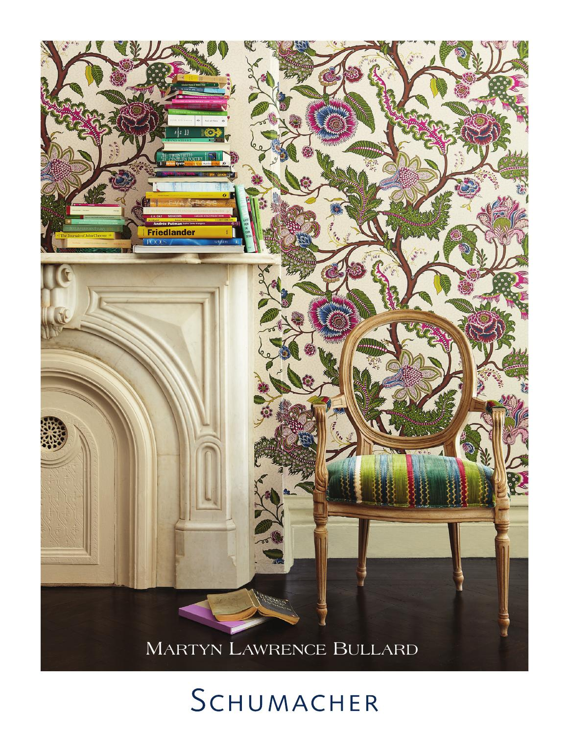 Martyn lawrence bullard wallcoverings for schumacher by for Schumacher martyn lawrence bullard