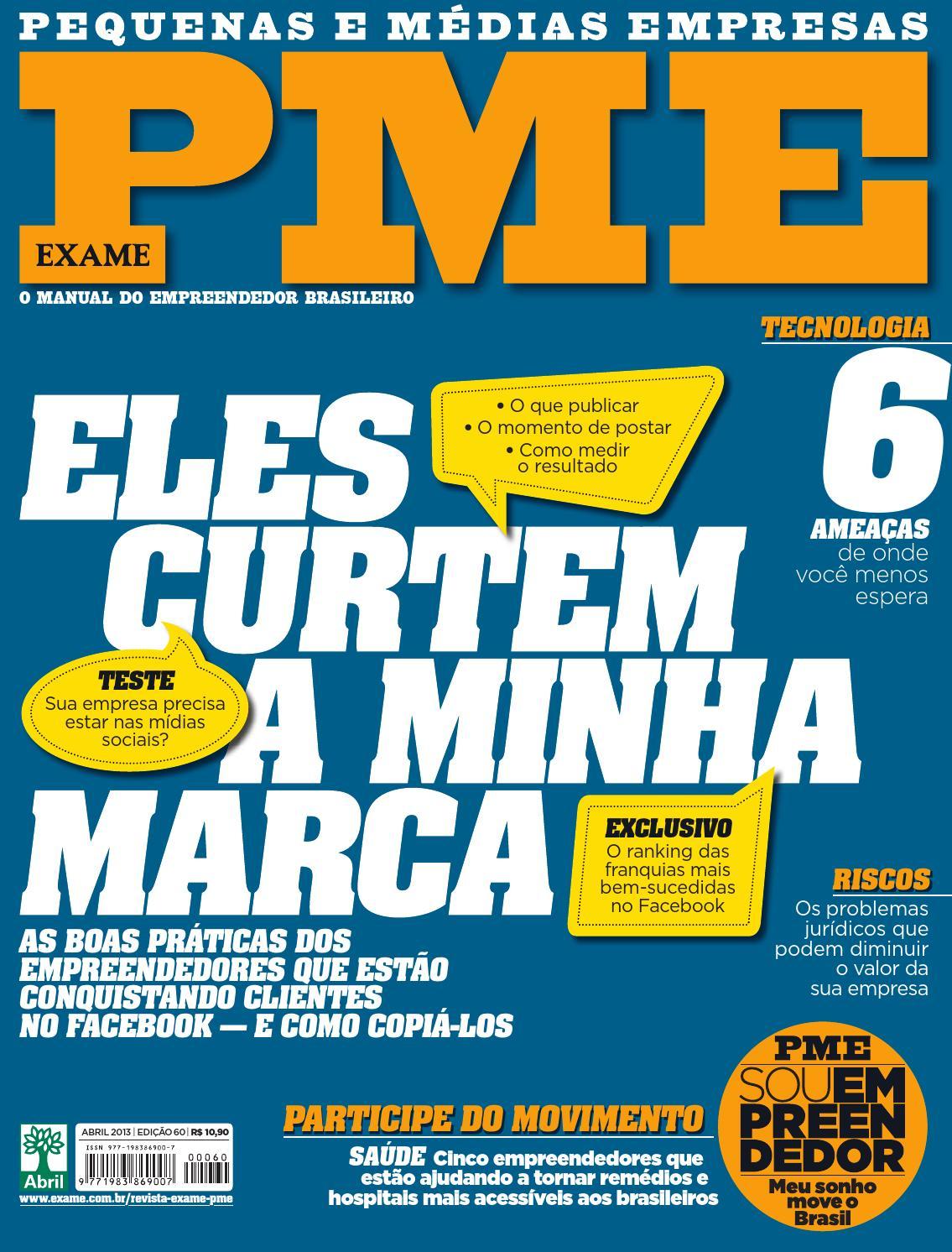 db582bb9e Edição 60 da Revista EXAME PME by Revista EXAME - issuu