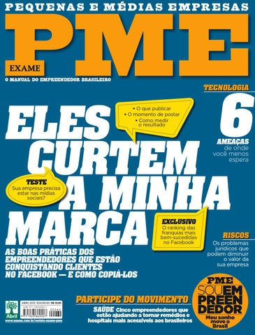 Edição 60 da Revista EXAME PME by Revista EXAME - issuu 95455b95c4