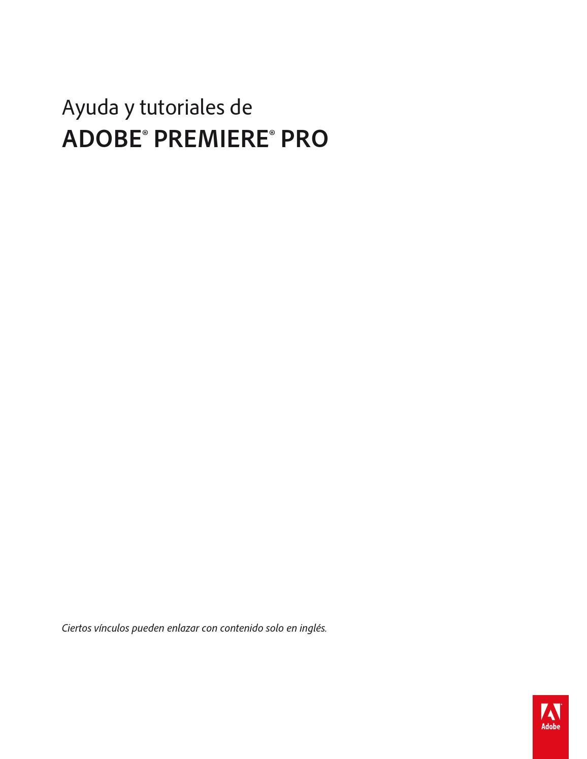 Manual adobe premiere cs6 by Adan Arturo Isidro Torres - issuu