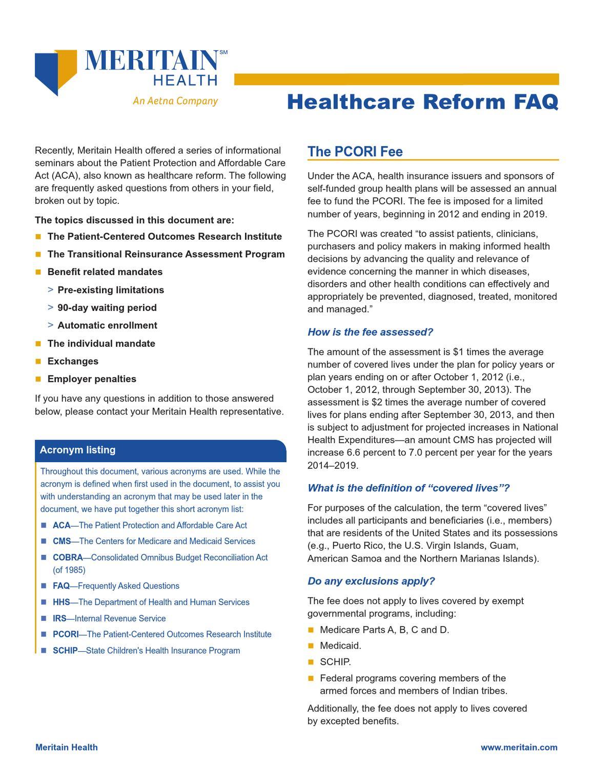 Healthcare-Reform-FAQ-for-ASBA by Arizona School Boards ...