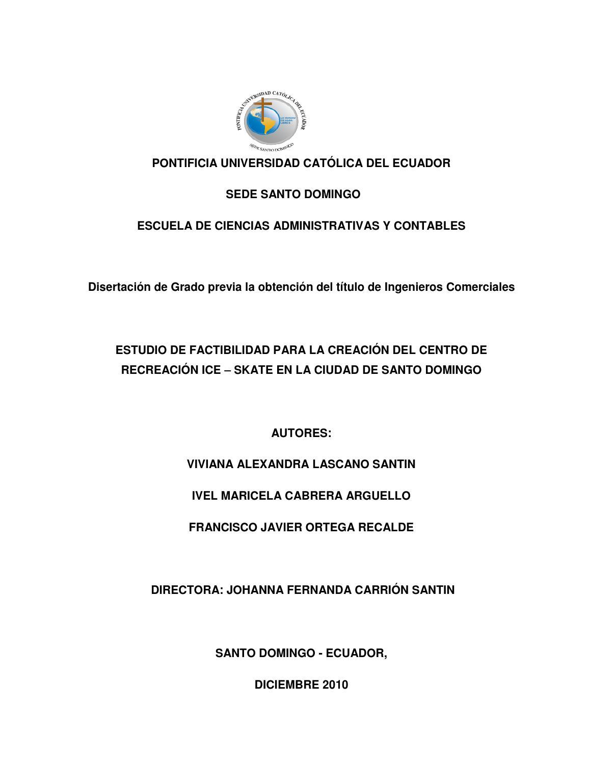 Estudio De Factibilidad Para La Creaci N Del Centro De Recreaci N  # Foda Muebles De Madera
