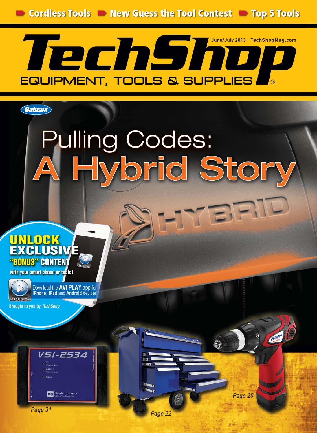 June July Issue Of Techshop By Babcox Media Issuu Makita Blower Wiring Diagram