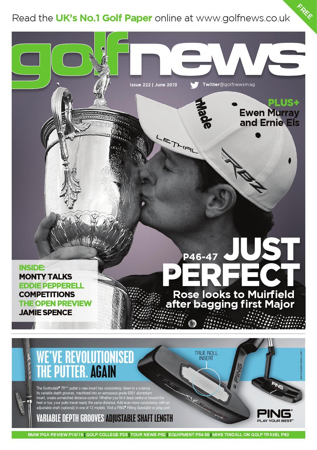 Golf News June 2013 By Golf News Issuu