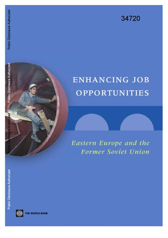 Enhancing Job Opportunities: Eastern Europe and the Former