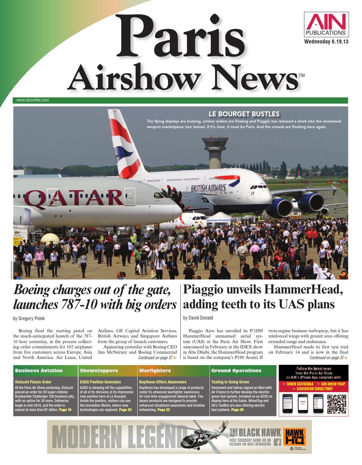Ain Paris Airshow News 06 19 13 By Aviation International Issuu Pw4000 Field Wire Harness Repair