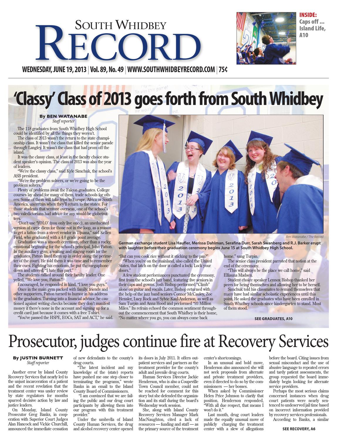 South Whidbey Record, June 19, 2013 by Sound Publishing - issuu