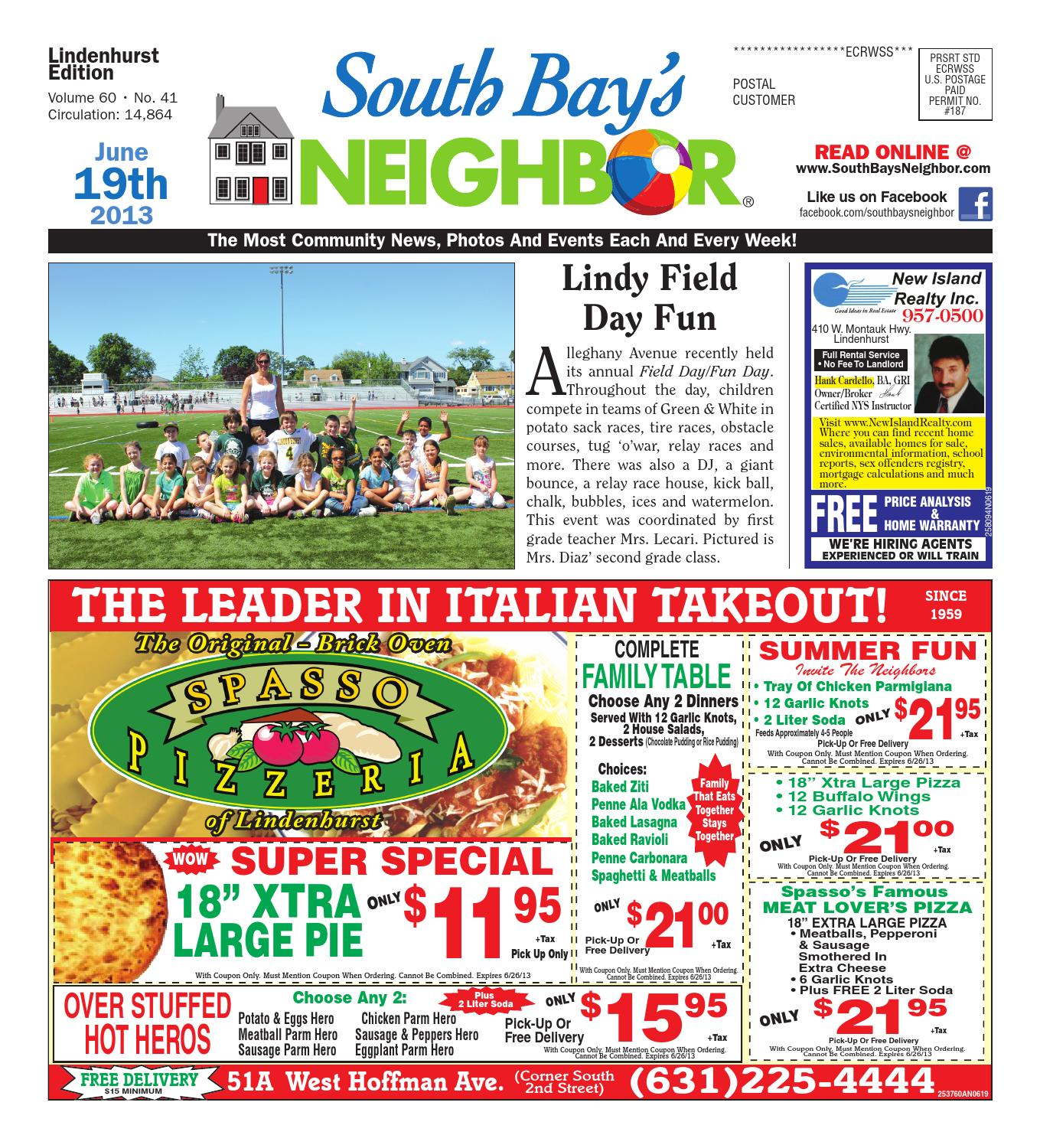 scarpe da ginnastica A basso prezzo vendite speciali June 19, 2013 Lindenhurst by South Bay's Neighbor Newspapers ...
