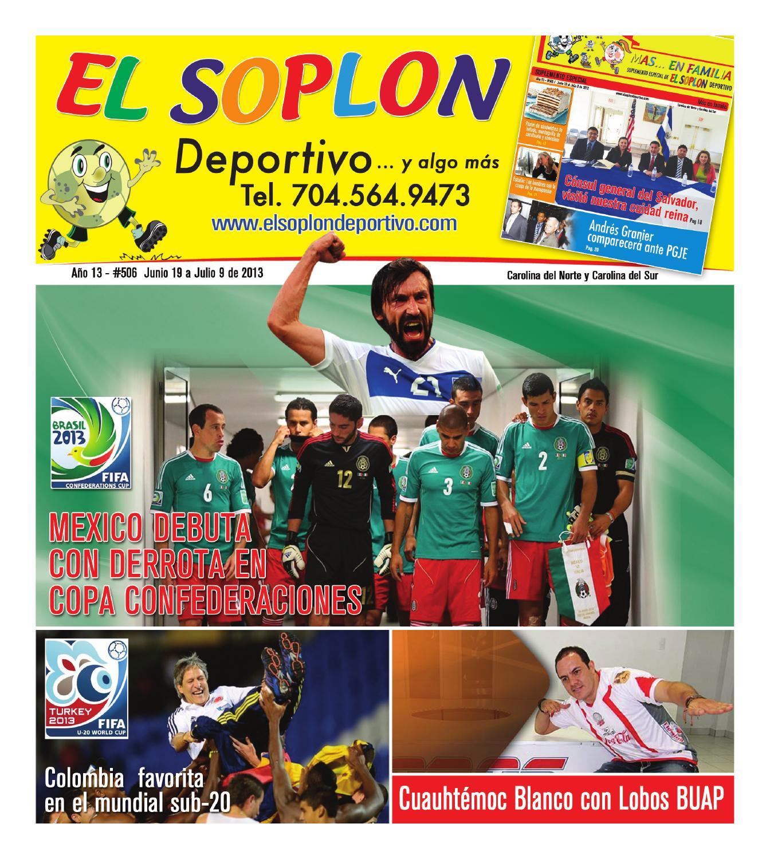 Soplon506 by El Soplon Deportivo - issuu b5ef455b7e7cb