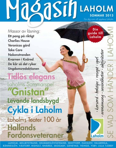 Magasin Laholm sommar 2013 by MacMedia - issuu 04713d25056bd
