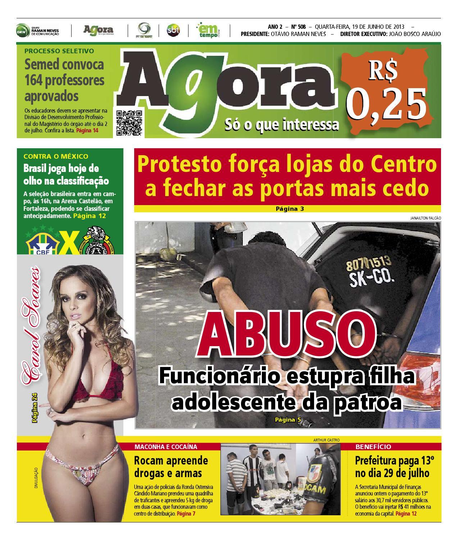 Agora - 19 de junho de 2013 by Amazonas Em Tempo - issuu c312b72d9d2