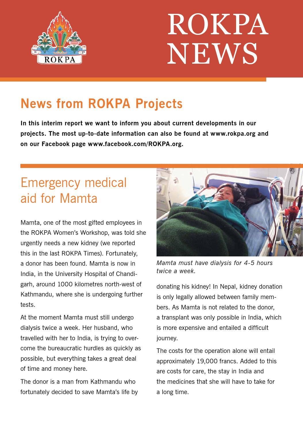 ROKPA Newsflyer June 2013 by ROKPA INTERNATIONAL - issuu