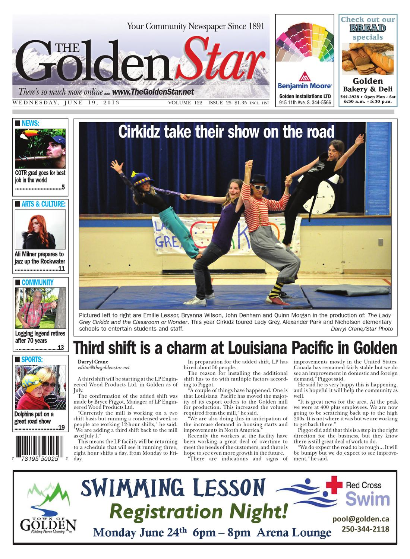 Golden Star, June 19, 2013 By Black Press   Issuu