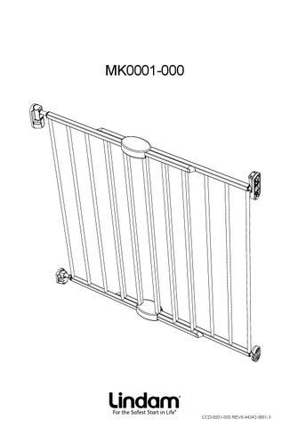 Lindam safety gate instructions