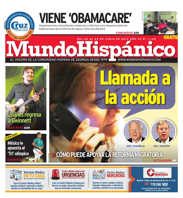 Mundo Hispanico 06-20-13 by MUNDO HISPANICO - issuu