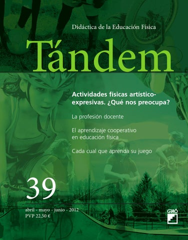 TÁNDEM. Didáctica de la Educación Física by Editorial Graó - issuu 8670112c2daf
