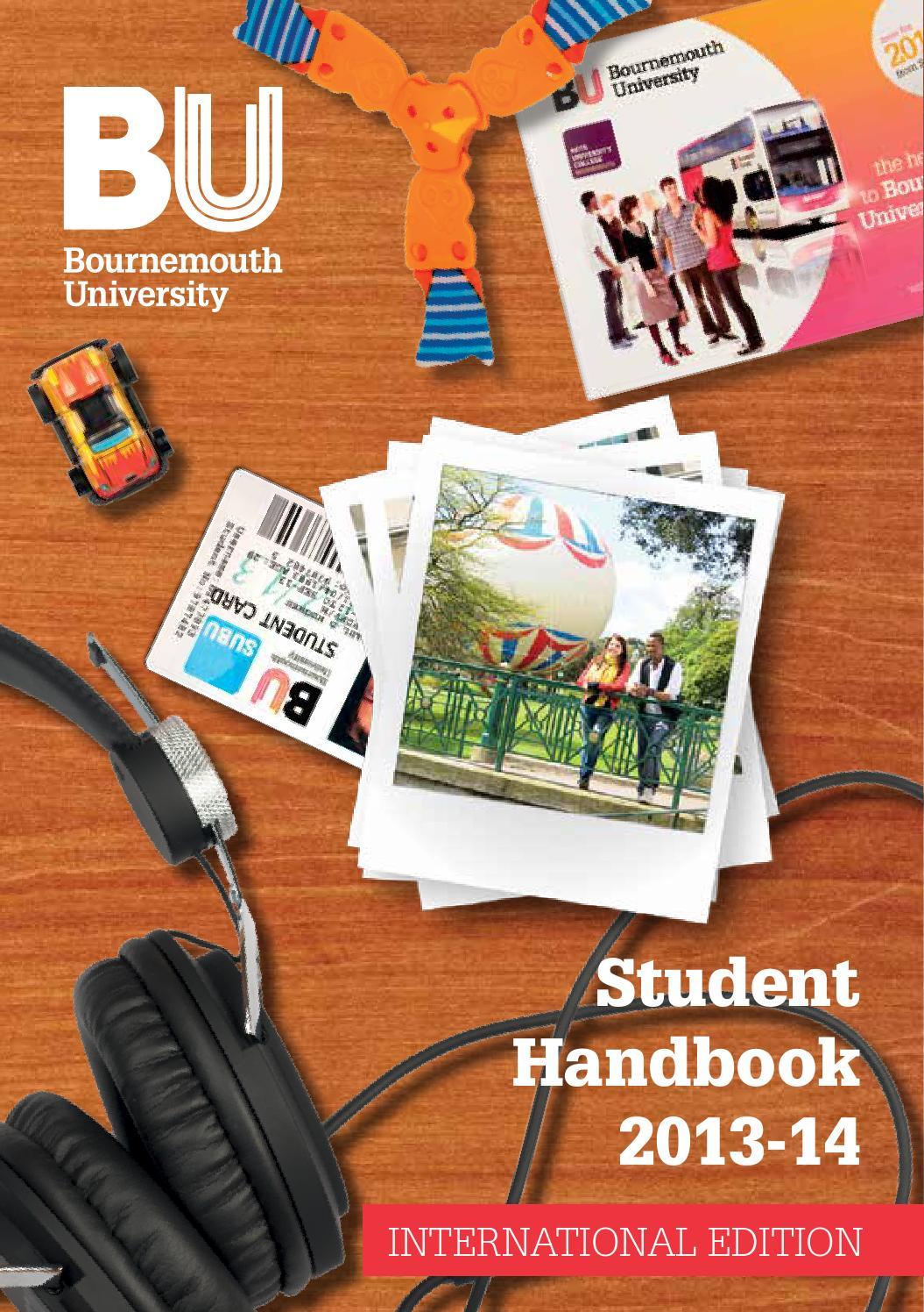 Bournemouth University Student Handbook 2013 14 International Edition By