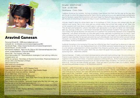 Iim Indore Testimonials 3 By Monami Bagchi Issuu
