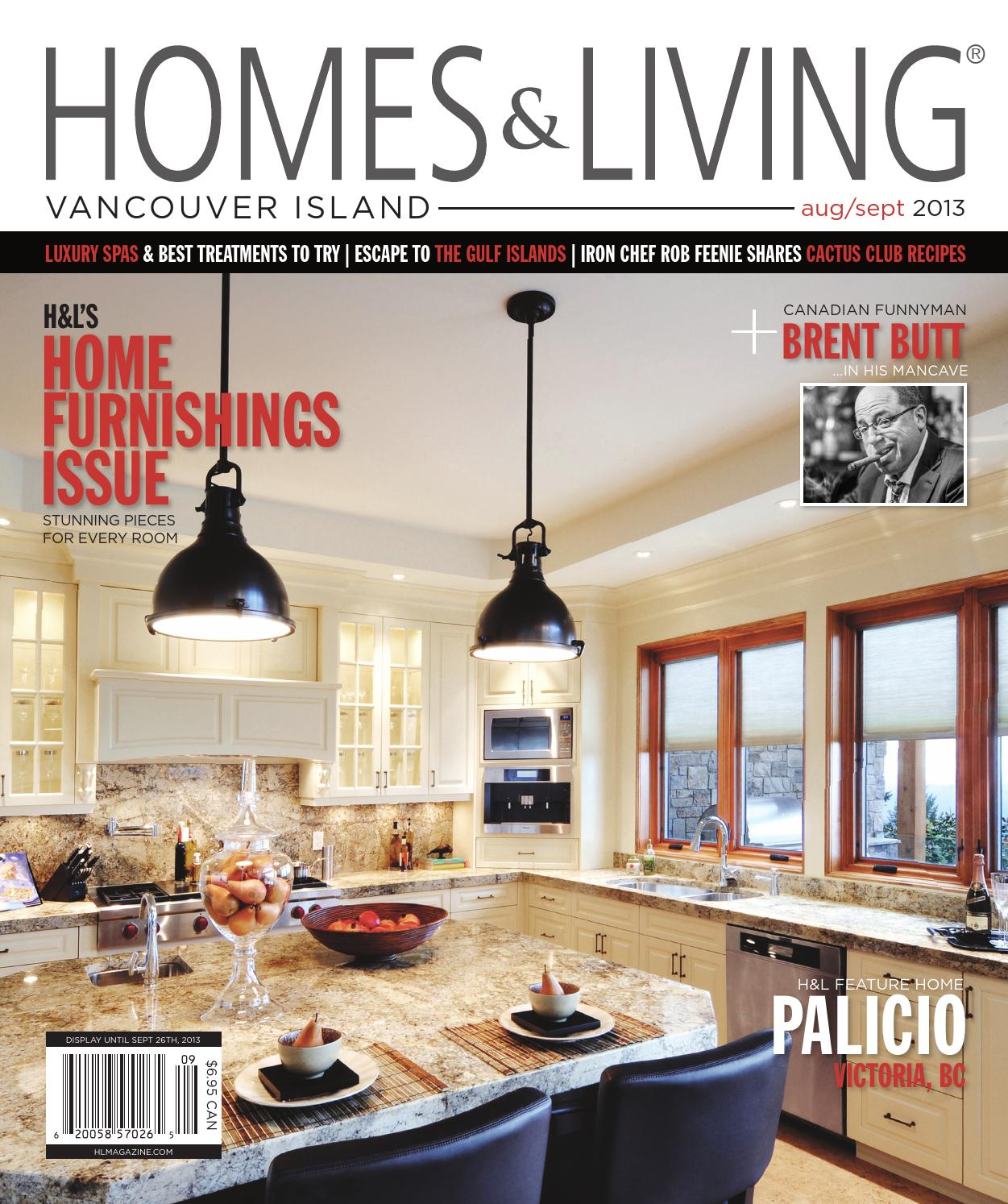 Vancouver Living: Homes & Living Vancouver Island Aug/Sept 2013 Issue By