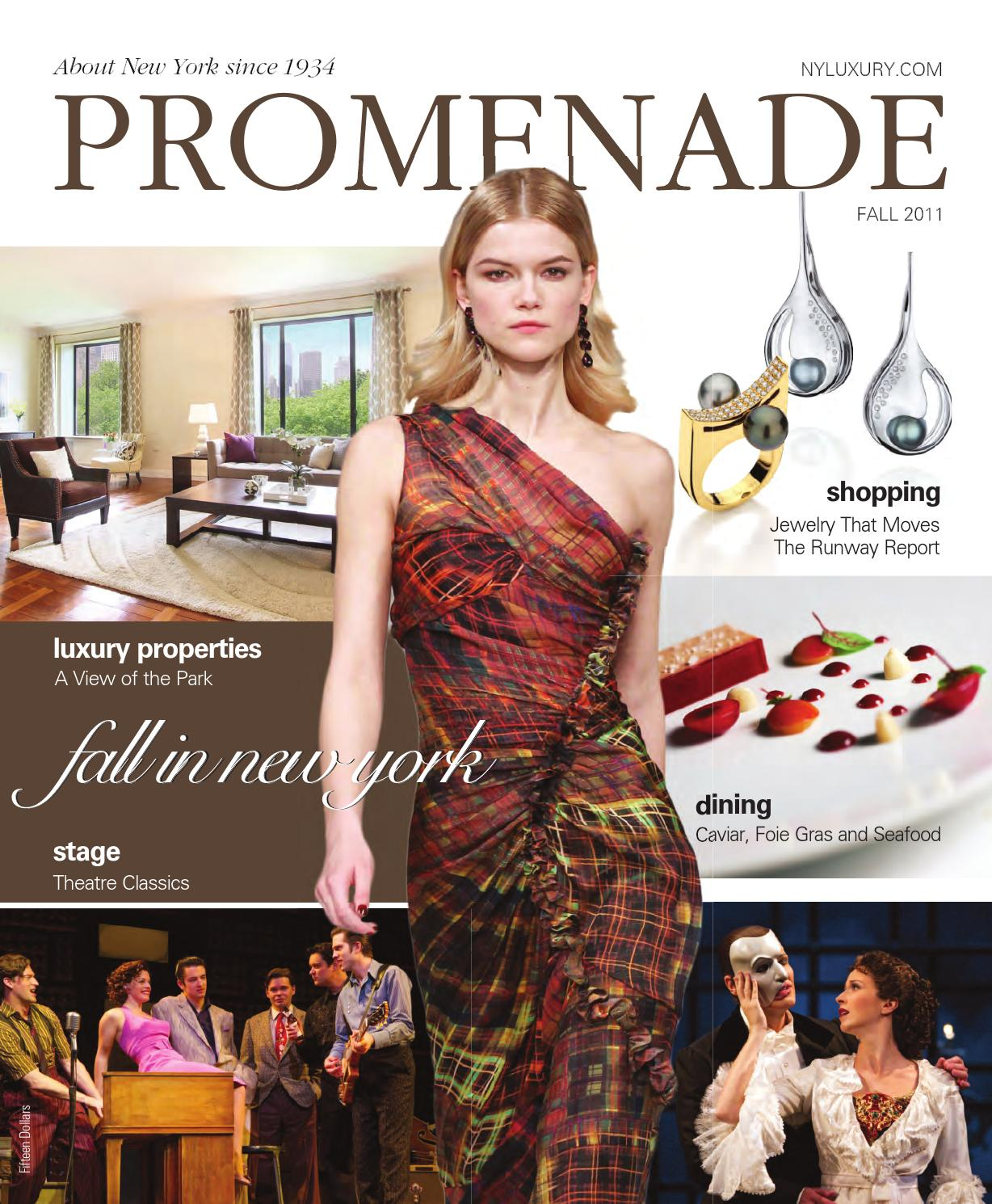 d7fd5bdf77 Promenade - Fall 2011 by Promenade Magazine - issuu