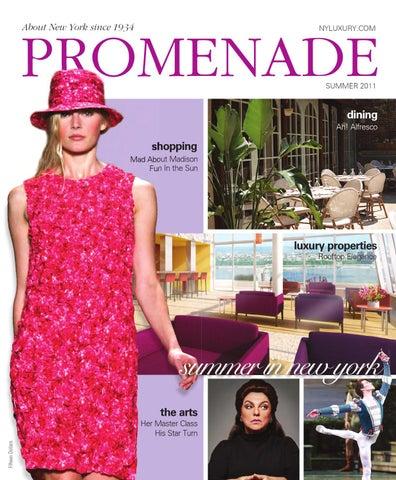 b962079bd9c Promenade - Summer 2011 by Promenade Magazine - issuu
