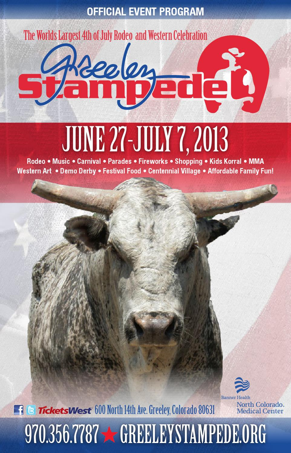 Stampede 2013 Guide by The Greeley Publishing Company - issuu