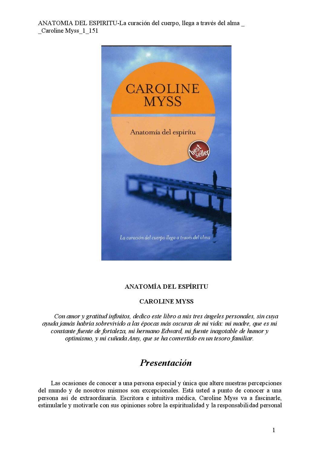 Anatomia del espiritu caroline myss[1] by María Pinto - issuu