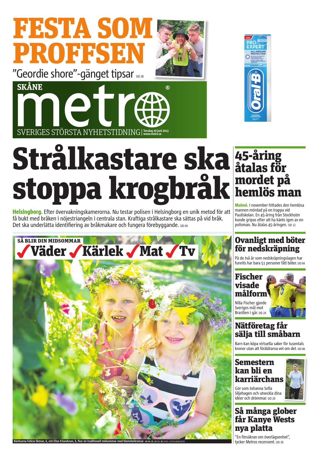 20130620 se malmo by Metro Sweden - issuu 71e25c012a91f