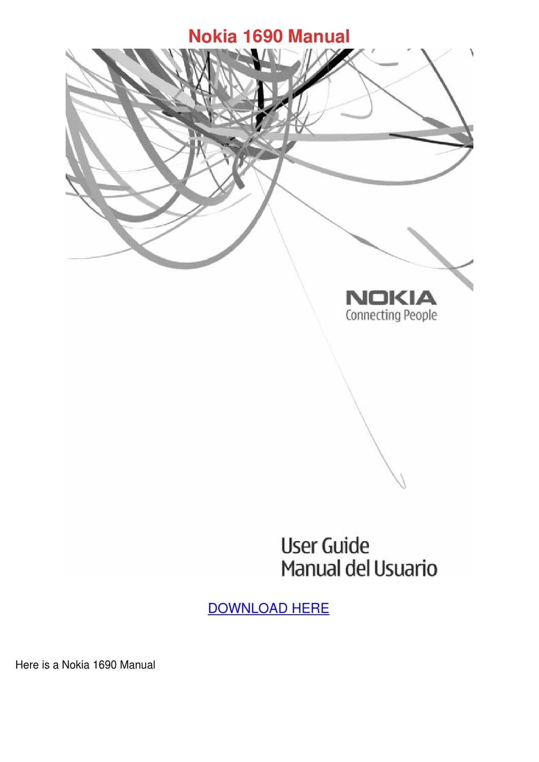 nokia 1690 manual by janessagoldberg