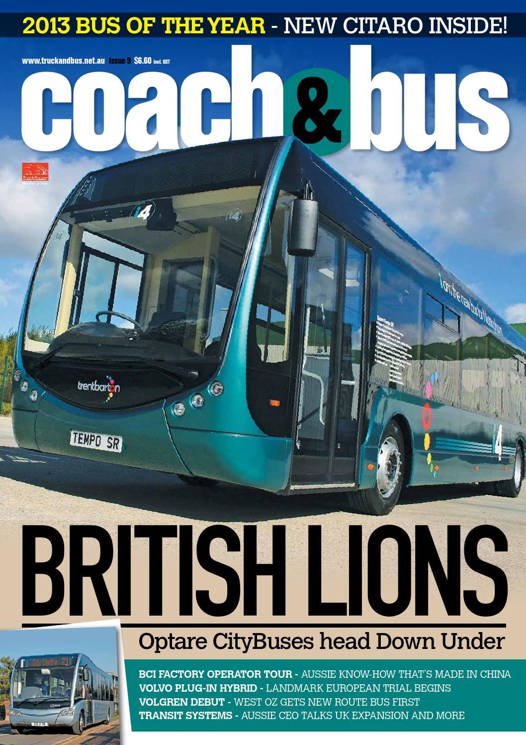 Coach bus issue 9 by transport publishing australia issuu falaconquin