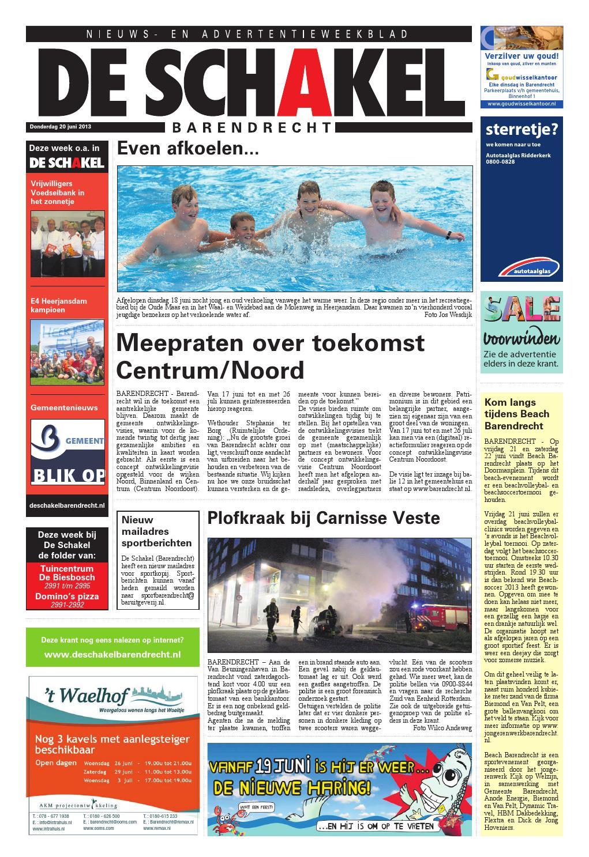2629d2a7e98542 20 06 2013 barendrecht by BAR Uitgeverij - issuu