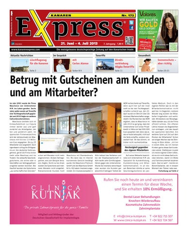 Kanaren Express 172 by Island Connections Media Group - issuu