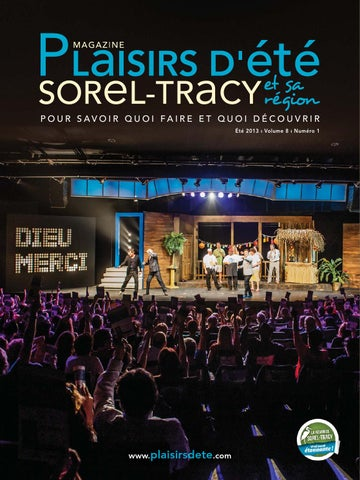 Plaisirs d'été Sorel-Tracy * 2013 by Cournoyer publications