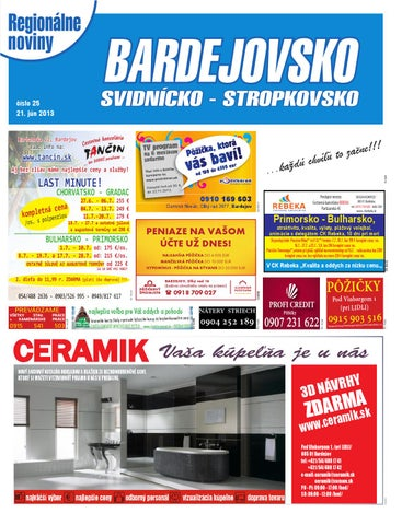 7fde5ae910a3 13 25 bardejovsko by REGIONPRESS - Bardejovsko - issuu