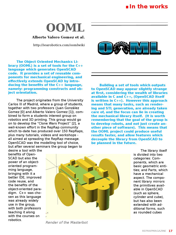 RepRap Magazine Issue 2