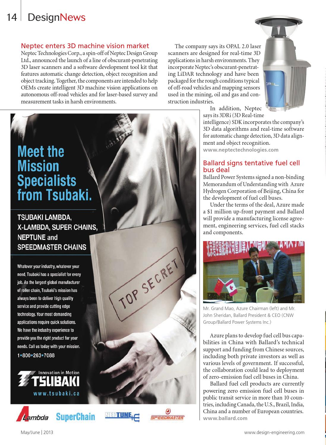 Design Engineering May/June 2013 by Annex Business Media - issuu