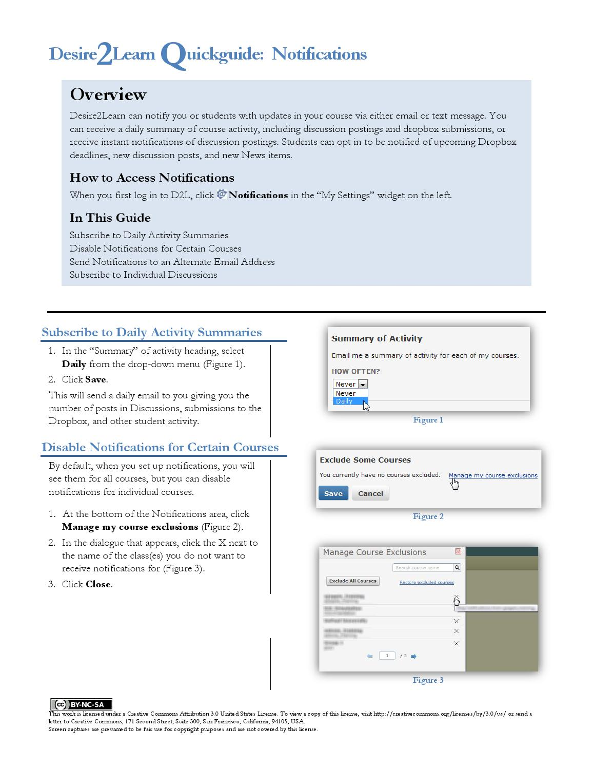 Notifications Quickguide By Cte Ggc Issuu