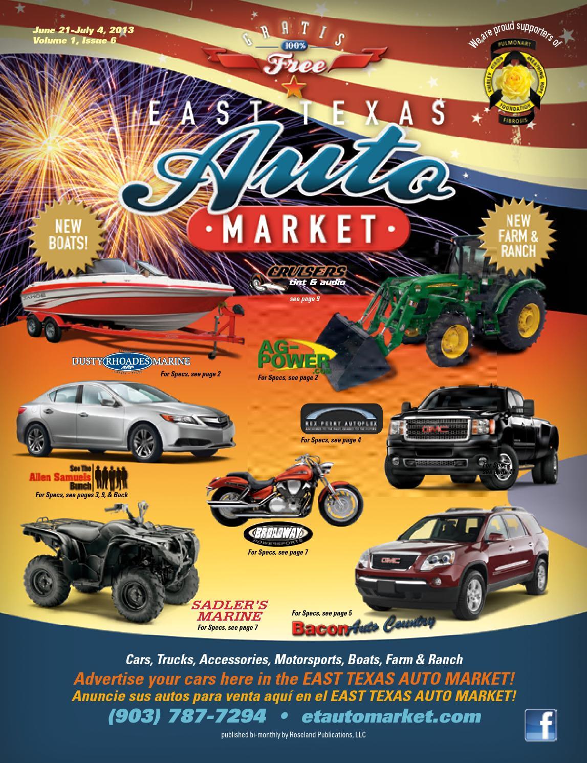 east texas auto market volume 1 issue 6 by ronnie mason issuu issuu