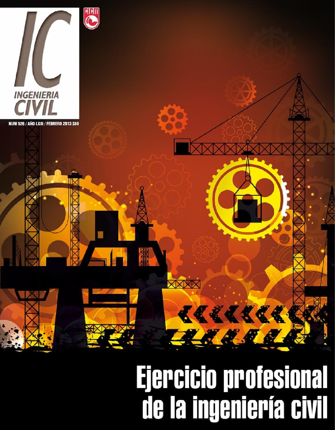 Revista Ingeniería Civil IC 526 febrero by Helios Comunicación - issuu