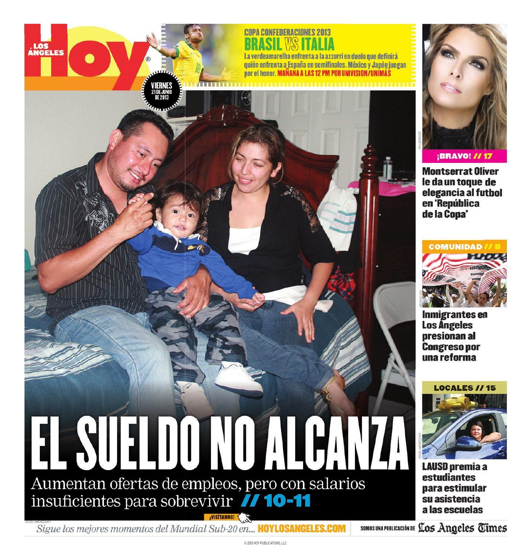 Viernes junio 21 by Hoy Los Ángeles - issuu