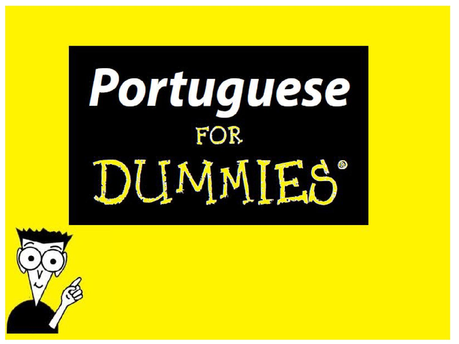 Portuguese classes by amanda medeiros issuu for Reading blueprints for dummies