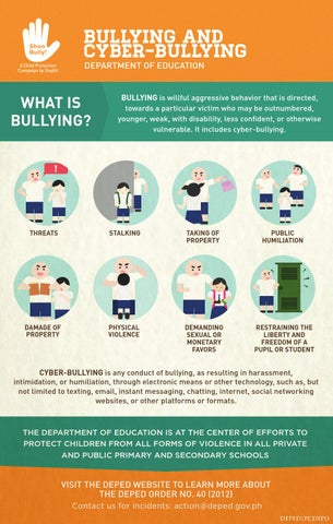 Deped Child Protection Policy Infographics By Deped