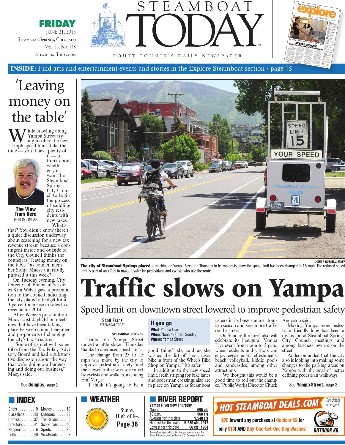 Steamboat Today, June 21, 2013 by Steamboat Pilot & Today - issuu on