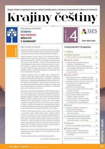 5f02142338b Krajiny češtiny číslo 4 by Dům zahraniční spolupráce - issuu
