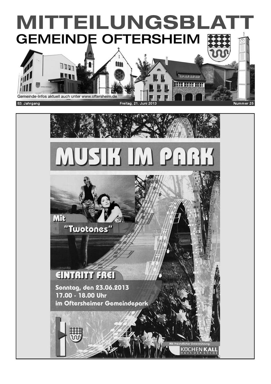 2013 25 Mitteilungsblatt Gemeinde Oftersheim By Gemeinde