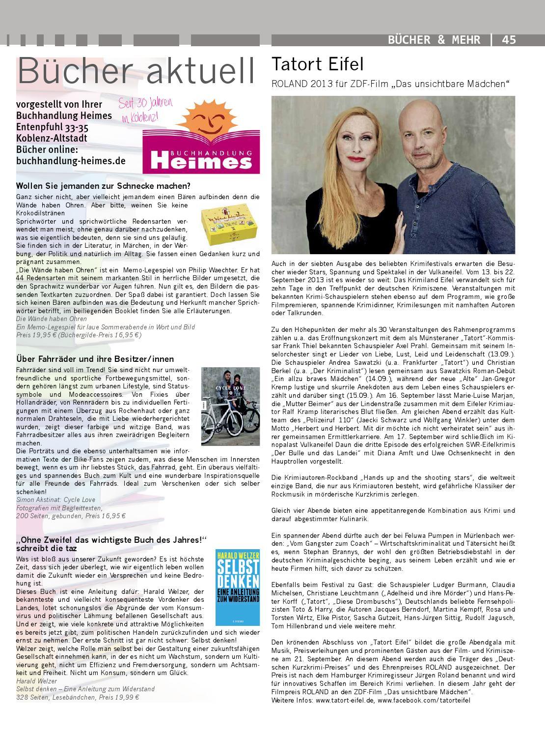 Kul issuu by Kulturverlag Günther Schmitz - issuu
